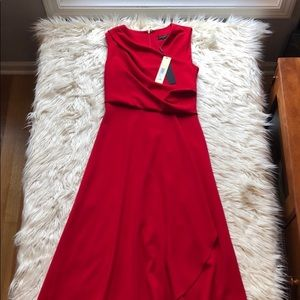 Donna Karan NY New Without Tags Red Dress